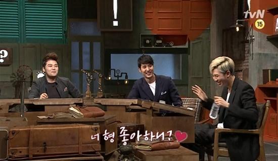 """[문제적 남자 예고 영상] 김지석이 말만하면 랩몬스터가 웃는다 """"너 형 좋아하니?"""""""