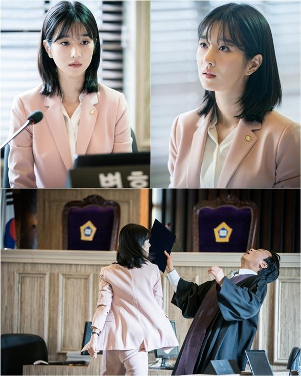 '무법변호사' 서예지, 연기 인생 첫 파격 단발 변신... 첫 촬영 현장 공개