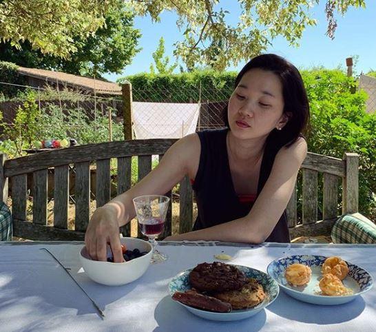 """'프랑스 한달살기' 장윤주, 여유 가득한 근황 공개 """"멈춰서기""""[★SNS]"""