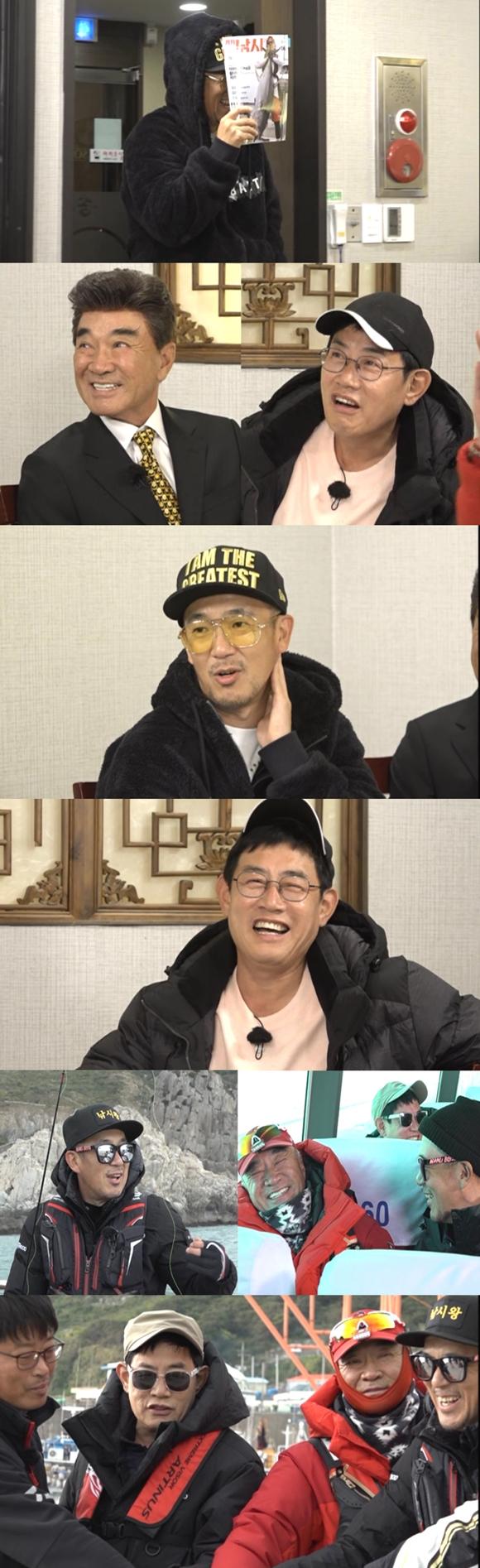 '도시어부2' 이하늘, 김래원·박병은과 비교 거부 '낚시부심' 만렙