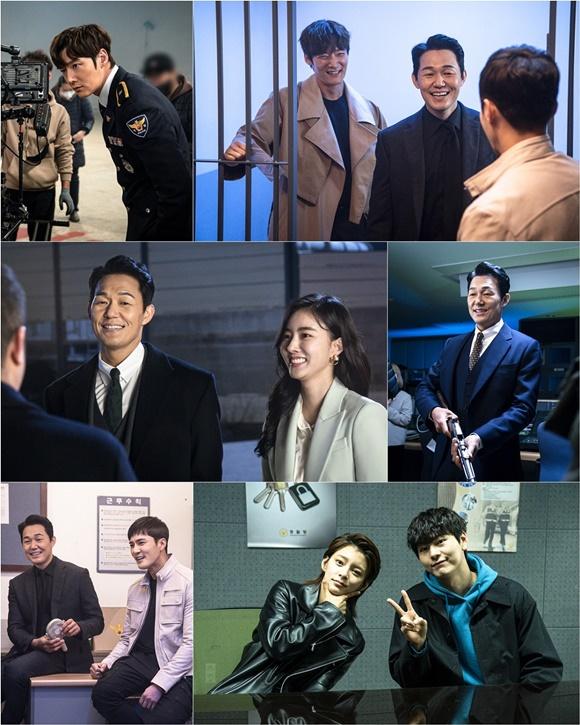 '루갈' 최진혁X박성웅X조동혁.., 이 환한 웃음 무엇! '진정한 꿀케미'