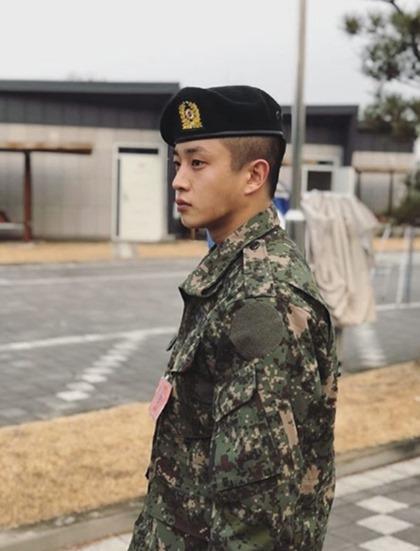 """김민석, 20일 군제대 """"코로나19 탓 말년휴가 후 복귀없이 전역""""(공식)"""