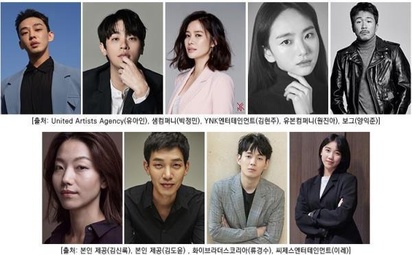 연상호 감독 '지옥', 유아인X박정민 출연 확정[공식]